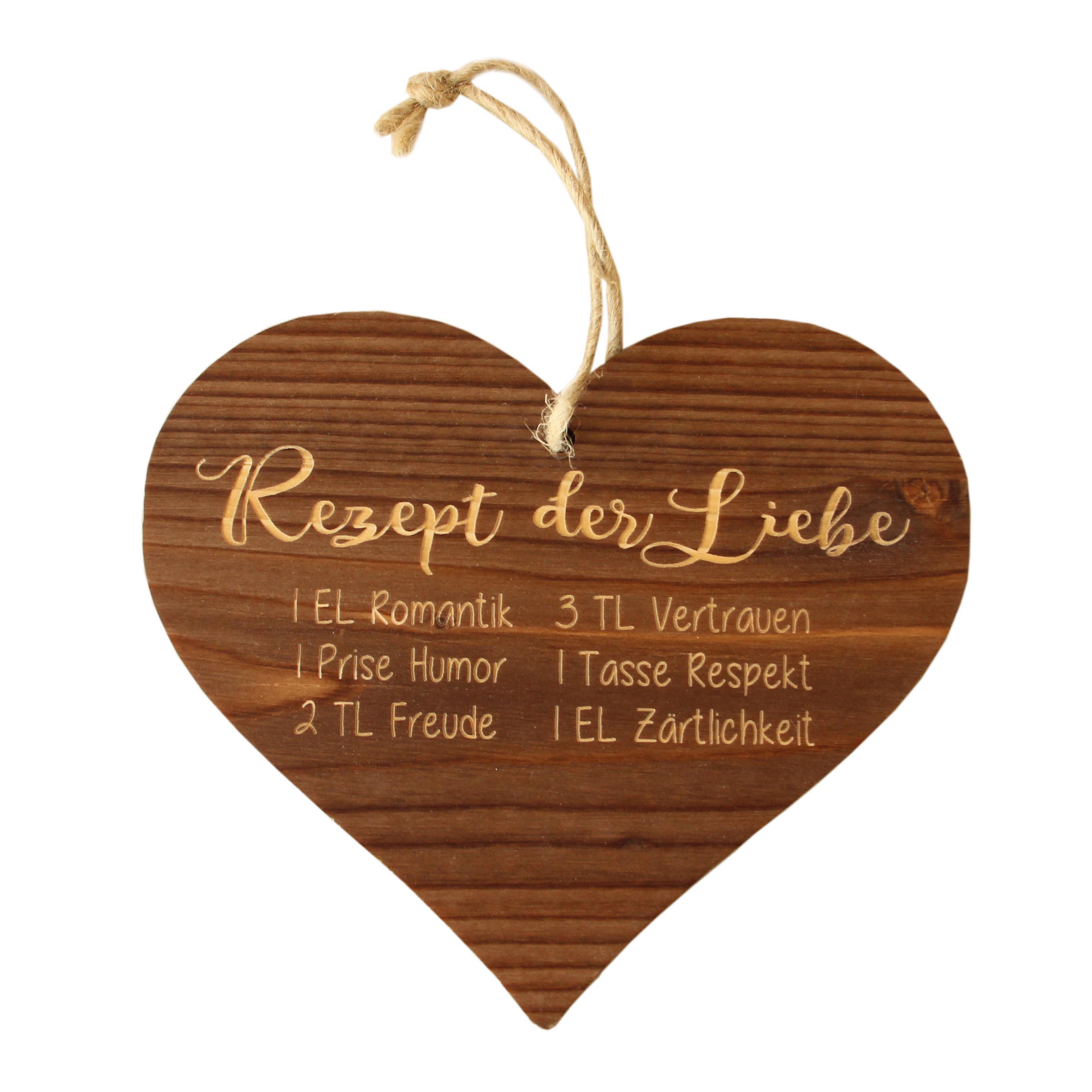 Herzanhänger Rezept - Liebe