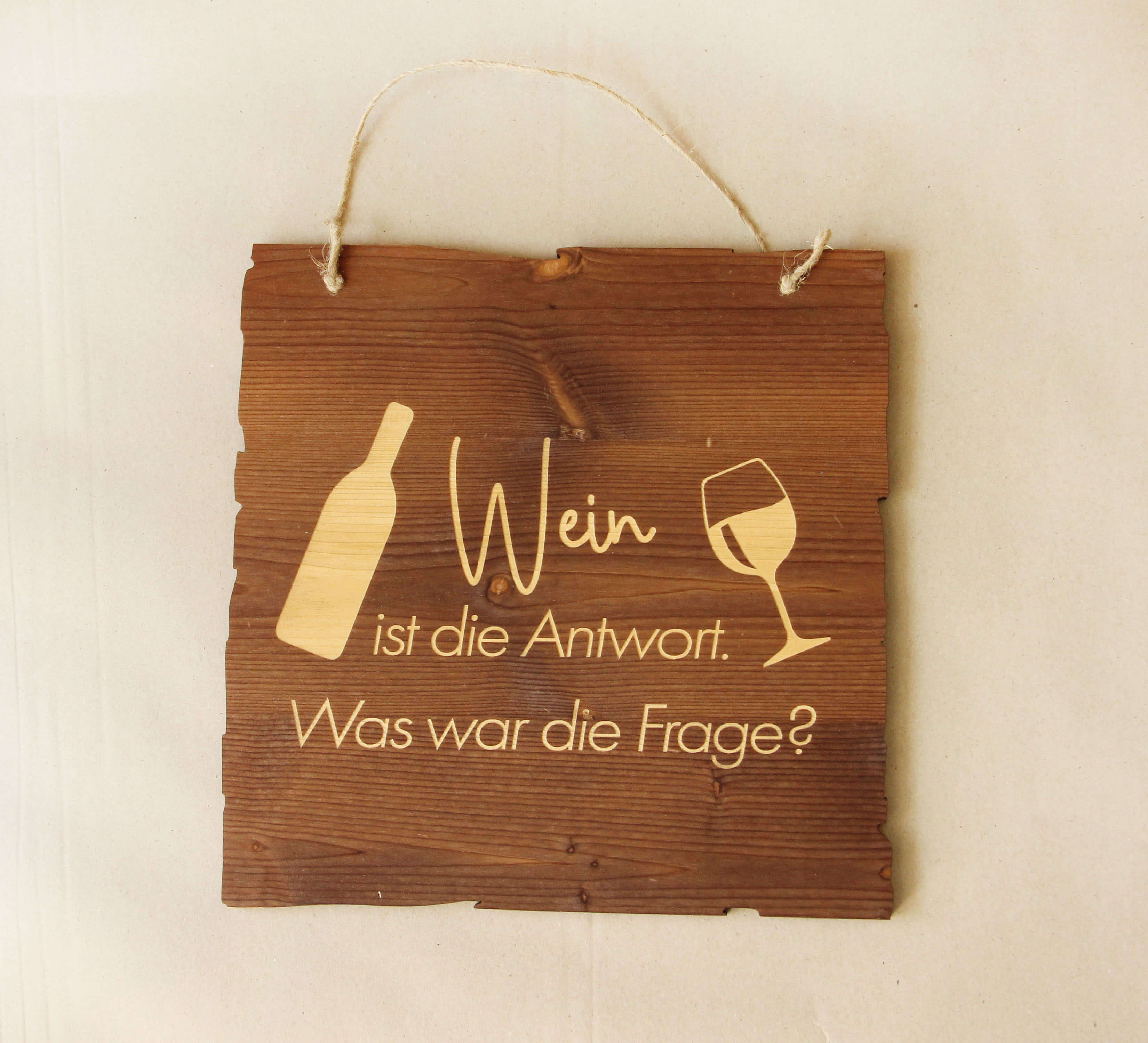 Wandbild Wein - Antwort