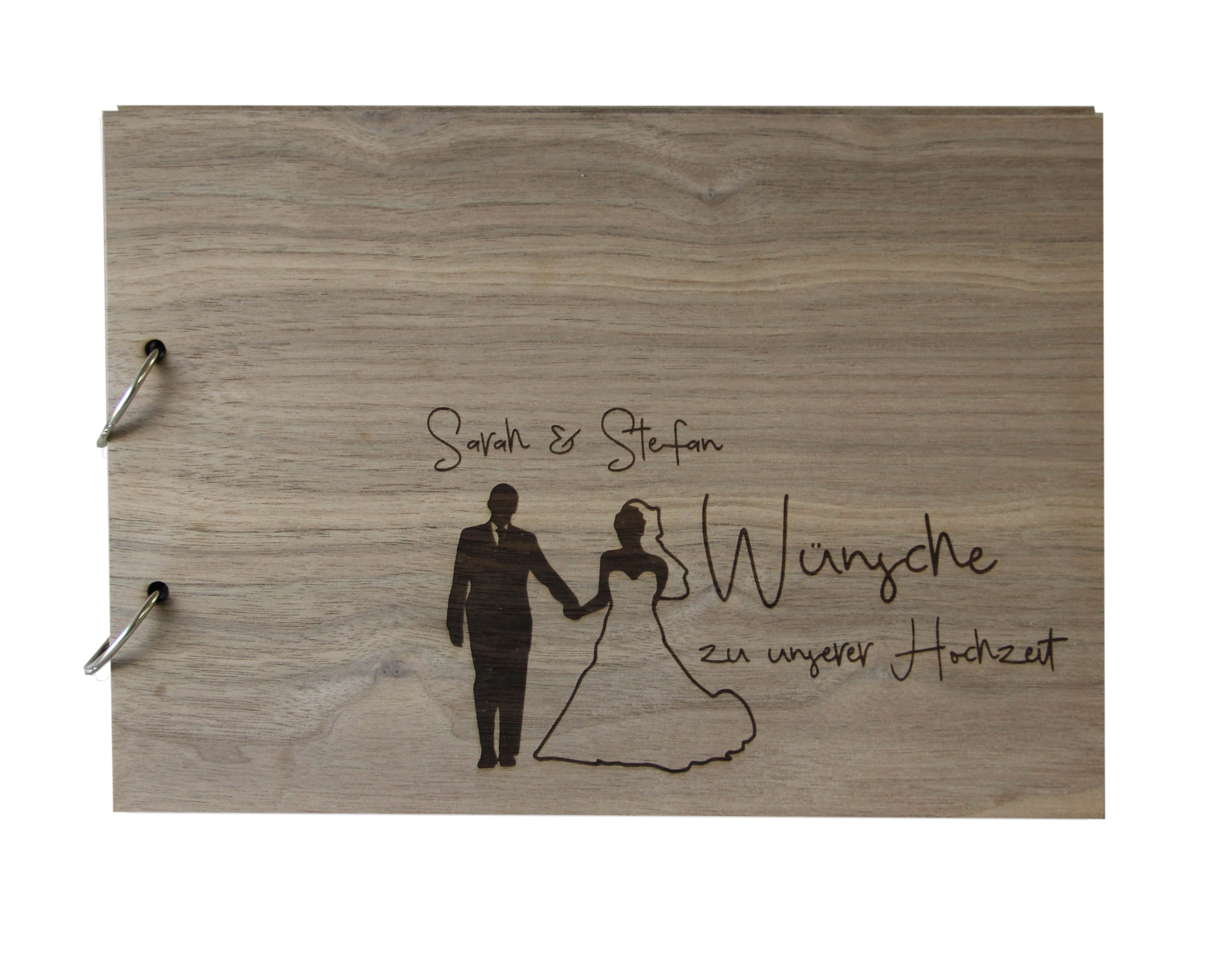 Gästebuch für unsere Hochzeit personalisiert
