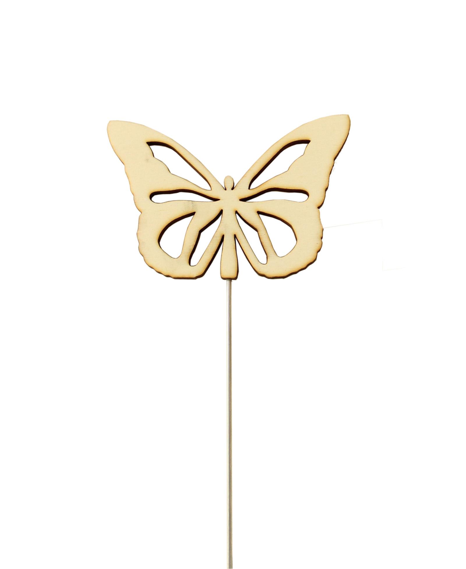 Pflanzenstecker Schmetterling