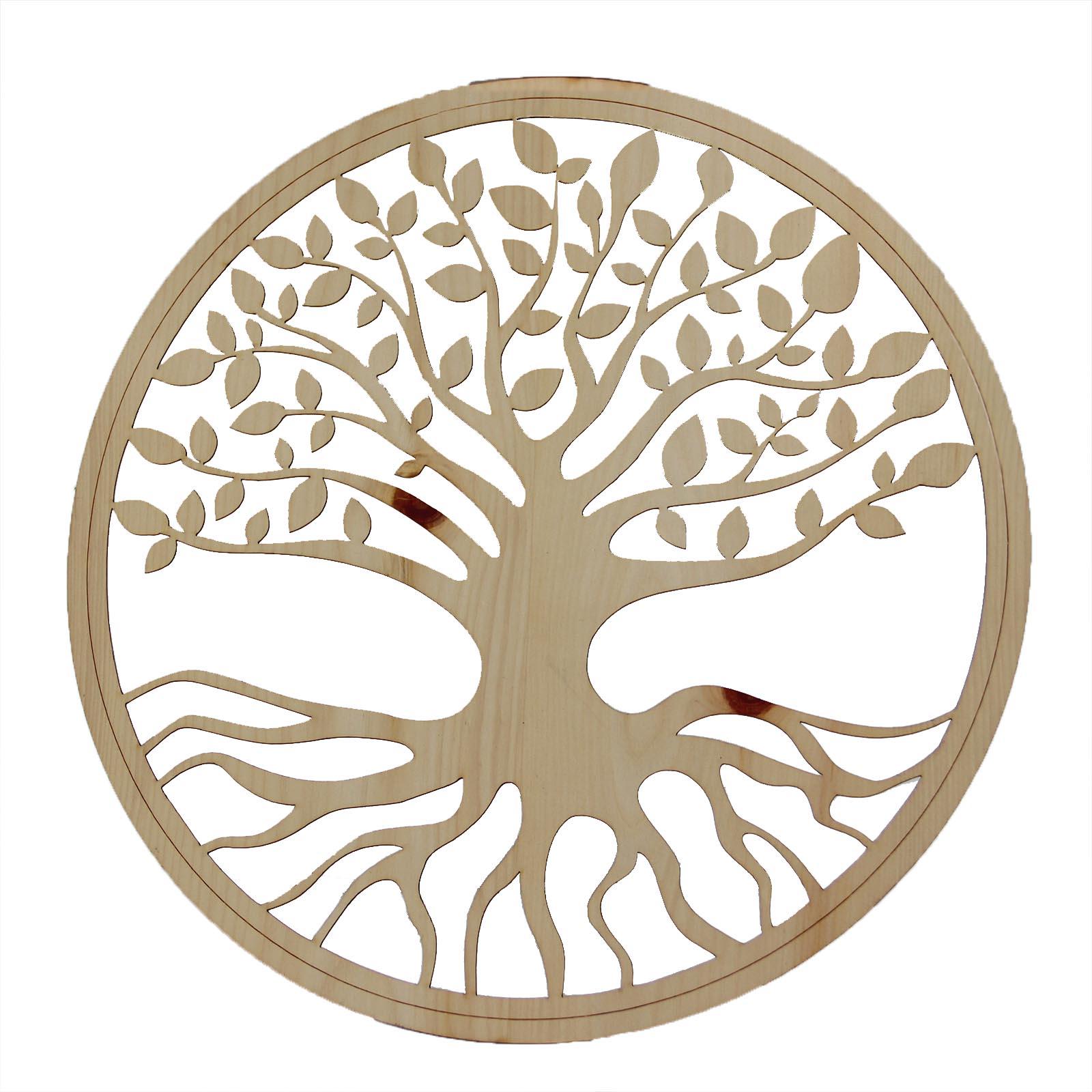 Baum des Lebens mit Klebefolie - Zirbe ab 25 cm