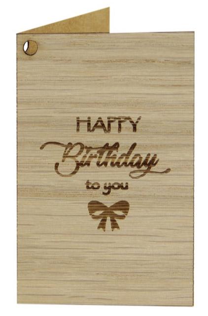 Geschenkanhänger Birthday 20
