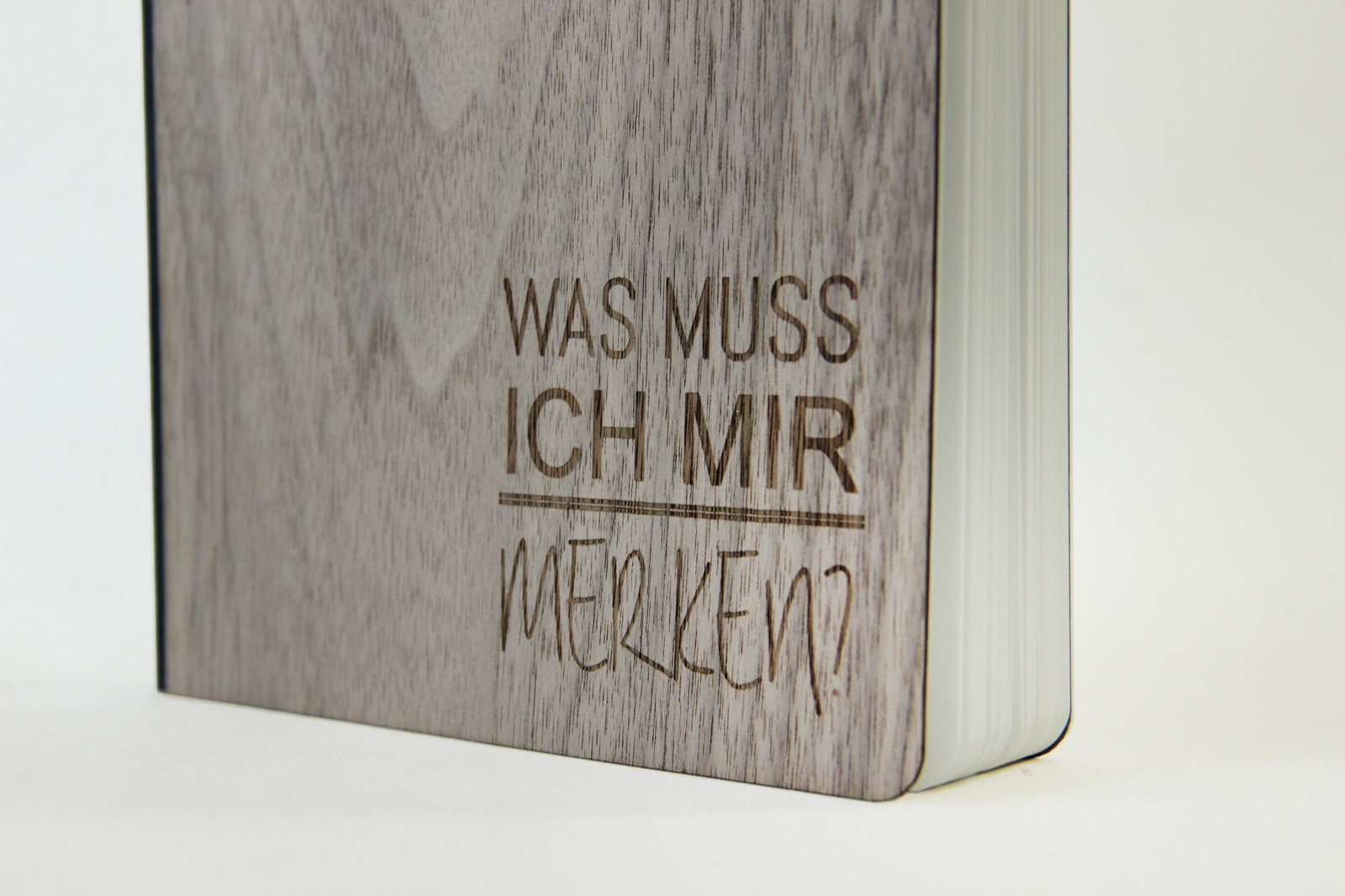 Notizbuch Merken