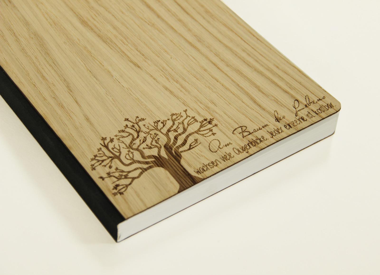 Notizbuch Baum des Lebens Eiche