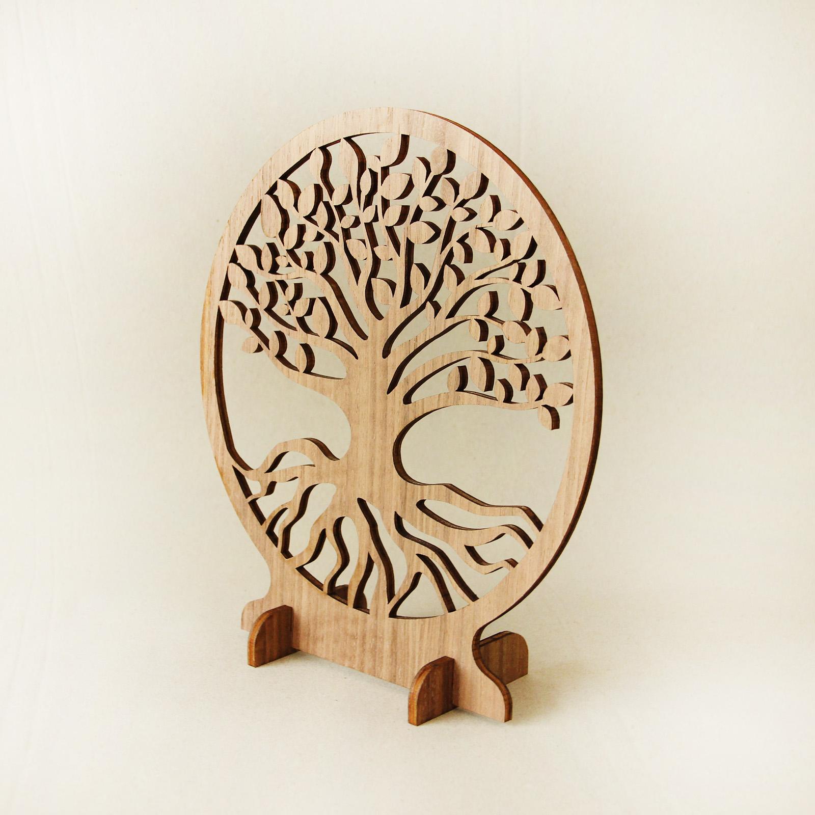 Baum des Lebens - gelasert