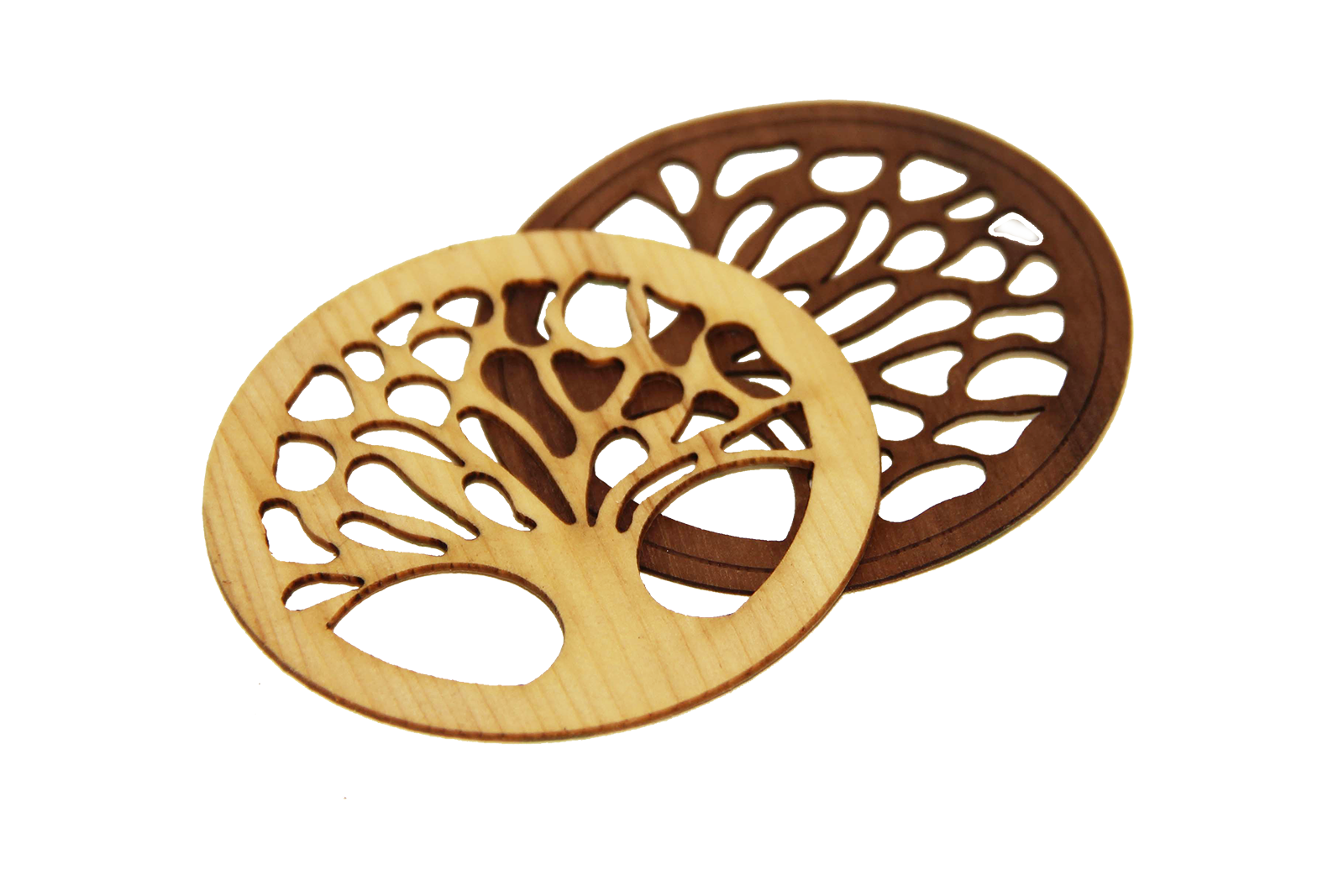 Baum des Lebens mit Klebefolie Nuss