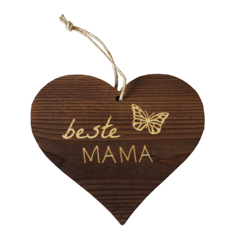Herzanhänger beste Mama